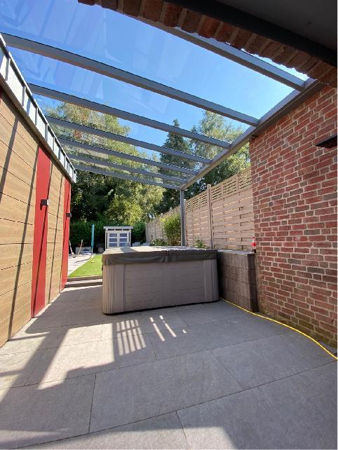 Referenz   DesignHaus - Markus Lintzen   Terrassenüberdachung   Stolberg